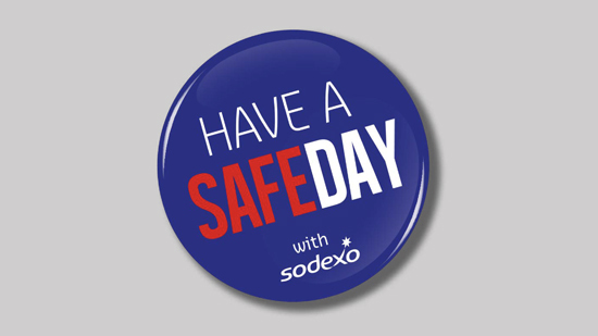 Logo Have a safe day with Sodexo