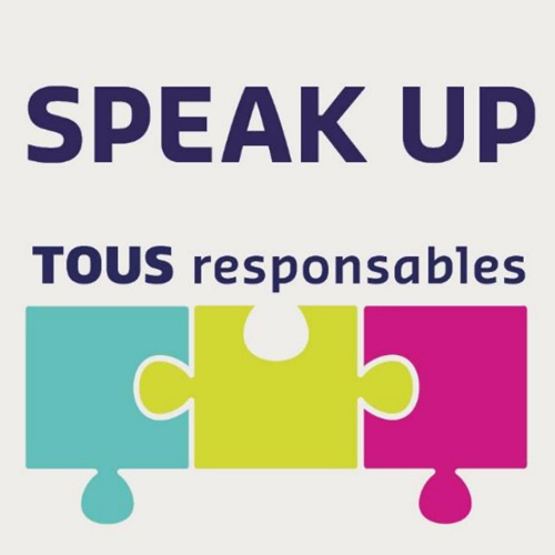 Logo Speak UP Tous Responsables