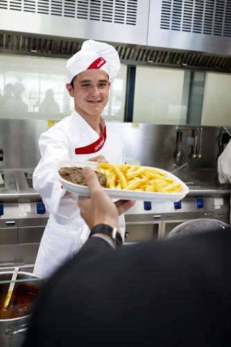 Sodexo pr sent au salon lhr emploi for Salon emploi hotellerie restauration