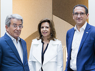 Michel Landel, Sophie Bellon, Denis Machuel